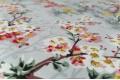 Дак (DUCK) цветущие деревья на сером фоне, 180 см