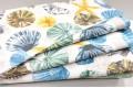 Дак (DUCK) серые, жёлтые, голубые ракушки, 180 см
