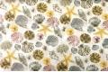 Дак (DUCK) серые, жёлтые, пудровые ракушки, 180 см