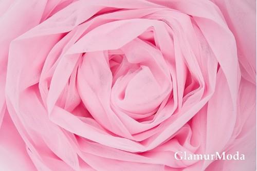 Еврофатин розового цвета, воздушный и мягкий, 300 см