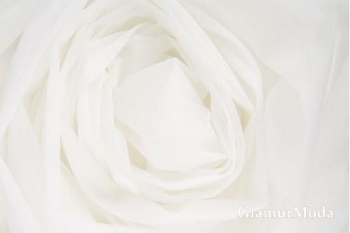 Еврофатин нежно-молочного цвета, воздушный и мягкий, 300 см