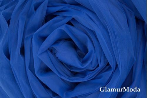 Еврофатин василькового цвета, воздушный и мягкий, 300 см