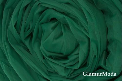 Еврофатин зёленого цвета, воздушный и мягкий, 300 см
