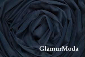 Еврофатин темно-синего цвета, воздушный и мягкий, 300 см