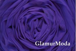 Еврофатин фиолетового цвета, воздушный и мягкий, 300 см