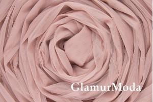 Еврофатин розово-сиреневого цвета, воздушный и мягкий, 300 см