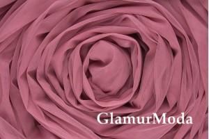 Еврофатин темно-розового цвета, воздушный и мягкий, 300 см