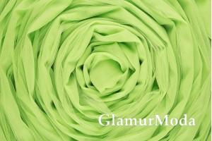 Еврофатин салатового цвета, воздушный и мягкий, 300 см