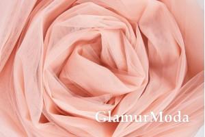Еврофатин цвет пудра, воздушный и мягкий, 300 см