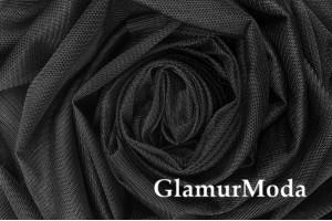 Сетка Esnek, черный цвет, 150 см., арт. 52
