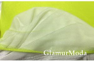 Фатин средней жесткости лимонно-желтого цвета шириной 150 см