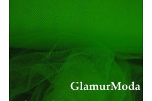 Фатин средней жесткости ярко-зеленого цвета  шириной 150 см