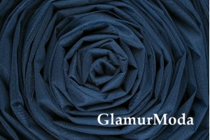 Фатин средней жесткости темно-синего цвета шириной 300 см