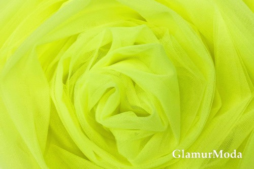 Еврофатин Buse-Hayal, кислотно-желтый, 300 см., арт. 58