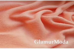 Флис персикового цвета