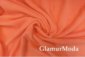 Флис ярко-оранжевого цвета