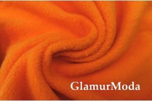 Флис оранжевого цвета