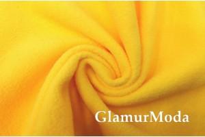 Флис ярко-желтого цвета