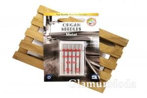Иглы для швейных машин Organ Metal 5/90-100