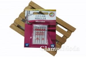 Иглы для швейных машин Organ Microtex 5/60-70