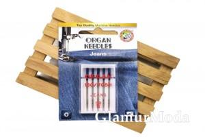 Иглы для швейных машин Organ Jeans 5/110