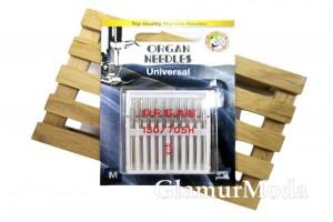 Иглы для швейных машин Organ Universal 10/70
