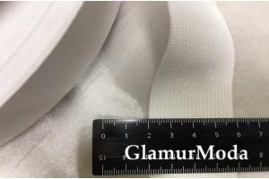 Резинка эластичная белая 4 см