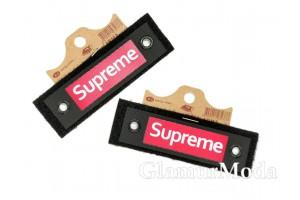 """Нашивка """"Supreme"""" на черном, 3.2х10.2 см"""