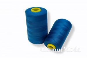 Нить 50/2 5000 ярдов цвет синий 268