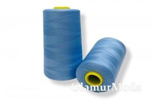 Нить 50/2 5000 ярдов цвет голубой 280