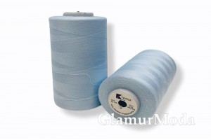 Нить 50/2 5000 ярдов цвет голубой 276