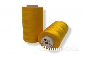 Нить 50/2 5000 ярдов цвет желтый 140