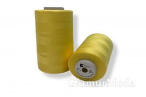 Нить 50/2 5000 ярдов цвет желтый 134