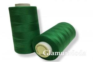 Нить 50/2 5000 ярдов зеленый цвет 213
