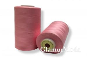 Нить 50/2 5000 ярдов розовый  цвет 154