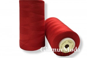 Нить 50/2 5000 ярдов красный цвет 112
