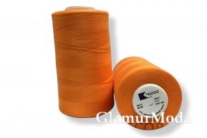 Нить 50/2 5000 ярдов оранжевый цвет 145