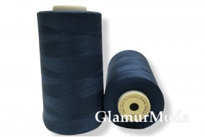 Нить 50/2 5000 ярдов серо-голубой цвет 313