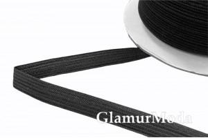 Резинка эластичная черная 1 см