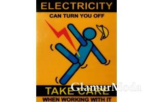 "Термонаклейка ""Electricity"" 10х8 см"