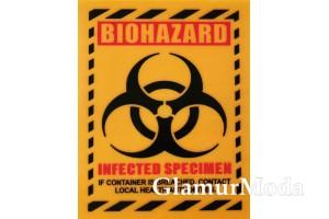 "Термонаклейка ""Biohazard"" 10х8 см"