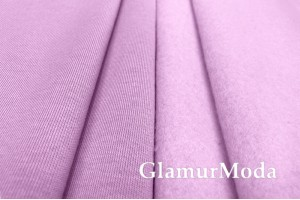 Футер 3-х нитка начес лилового цвета ,Турция