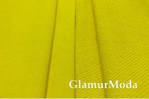 Футер 3-х нитка петля, ярко-желтый