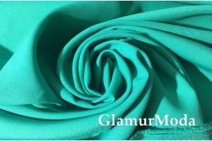 Габардин цвета зеленая бирюза