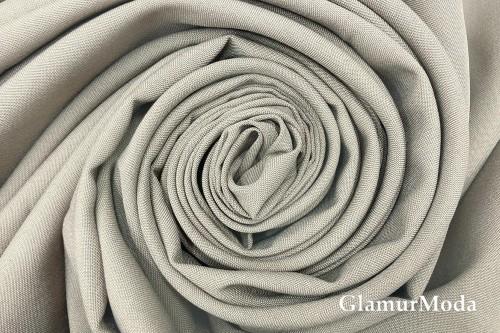 Габардин, туманный серый, арт. 323