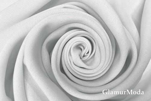 Габардин Фуа [Fuhua] белого цвета