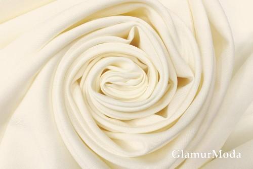 Габардин Фуа [Fuhua] молочного цвета