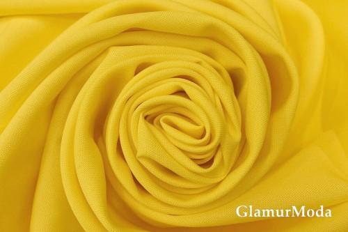 Габардин Фуа [Fuhua] желтого цвета