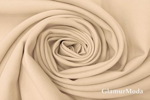 Габардин Фуа [Fuhua] светло-бежевого цвета