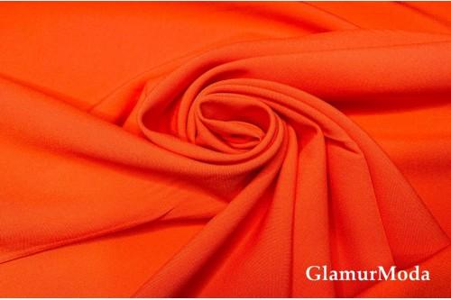 Габардин Фуа [Fuhua] оранжевого цвета арт. 156/1